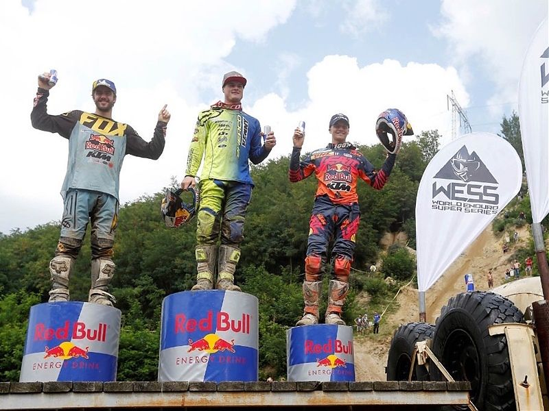 Young, Lettenbichler y Walker podio Romaniacs