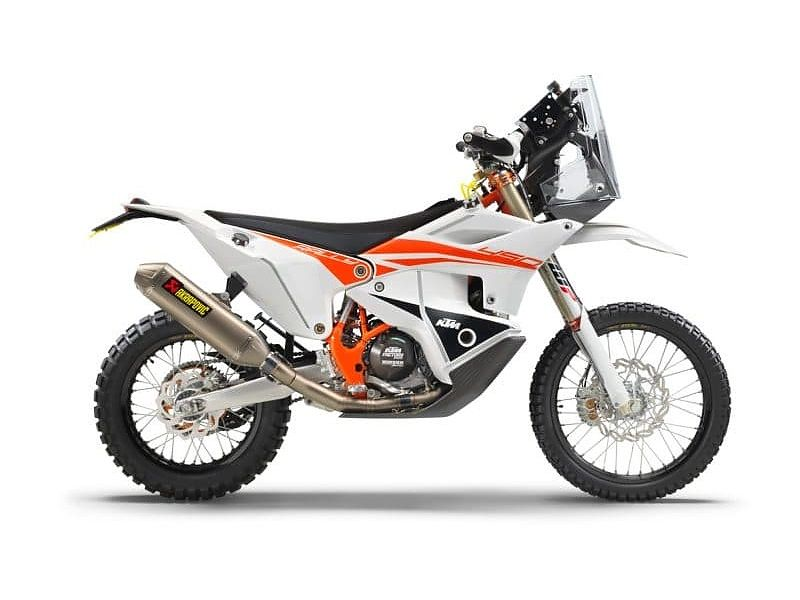 KTM 450 Rally Replica lateral