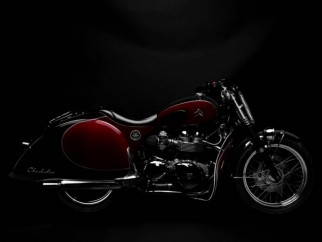 Triumph Bonneville 2CV Charlestone por South Garage