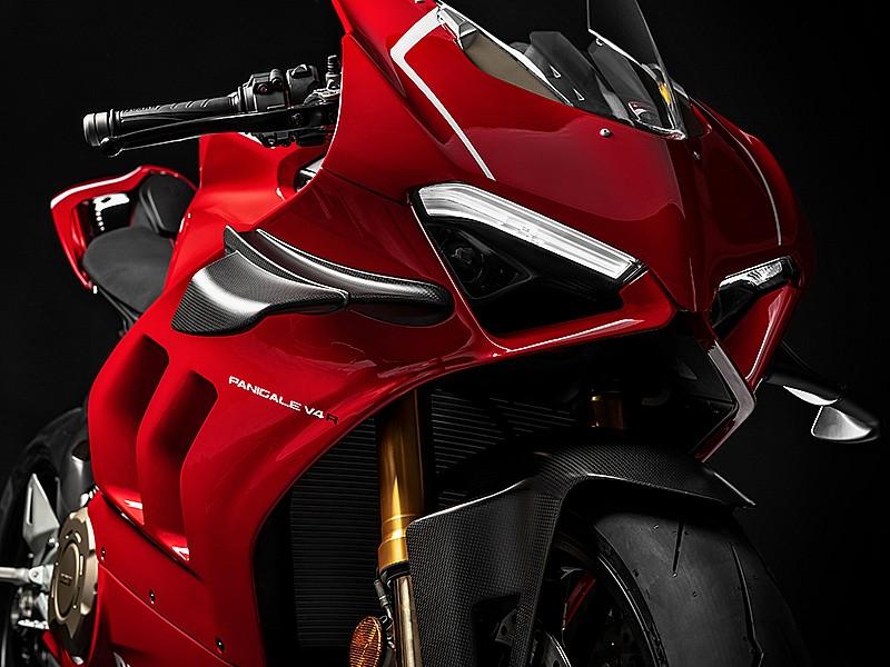 Frontal de la Ducati Panigale V4 R
