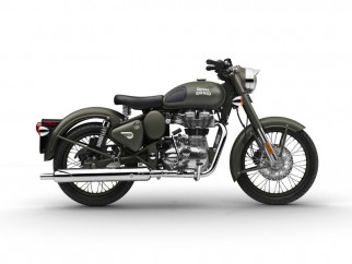 Royal Enfield Classic 500 'Battle Green'