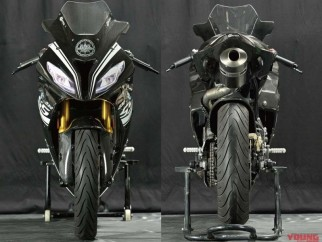 BMW G310RR por A-TECH - frontal