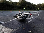 Las carreteras con más accidentes graves de moto
