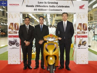 40 millones de motos Honda en India