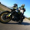 Bridgestone Battlax Sport Touring T31 al detalle en marcha.