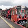 Un tren convertido en Hayabusa