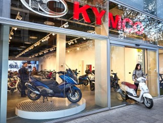 KYMCO España abre su Showroom