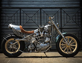 HD Panhead por MLR Custom