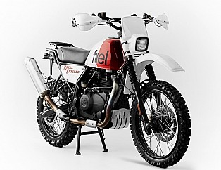 Royal Rally 400 por Fuel Motorcycles
