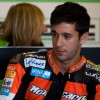 Joan Lascorz en el box del Provec Racing Team