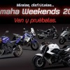 Calendario Yamaha Weekends 2011
