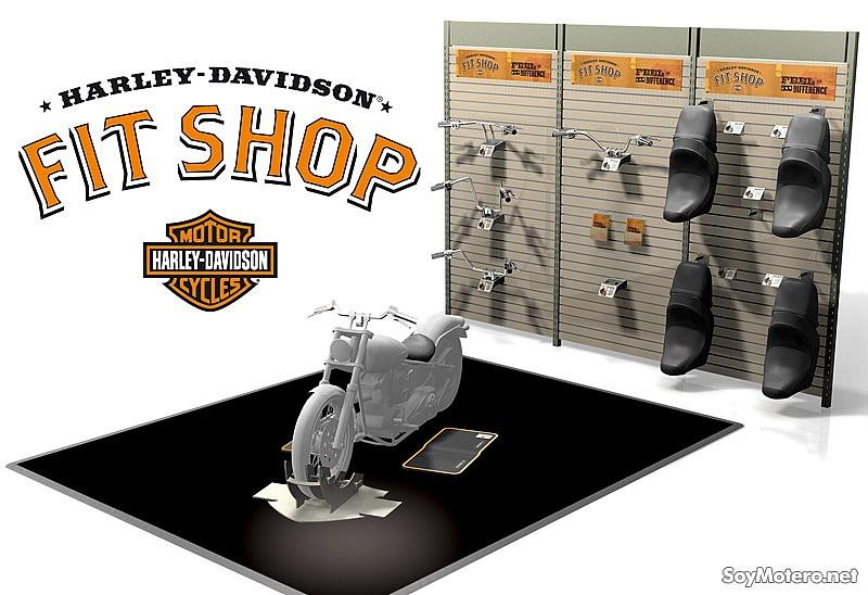 fit shop el sistema de personalizaci n de harley davidson ya funciona en espa a motos. Black Bedroom Furniture Sets. Home Design Ideas