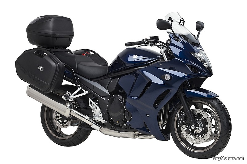 nueva suzuki gsx1250fa touring equipada para viajar. Black Bedroom Furniture Sets. Home Design Ideas
