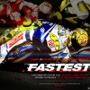 Cartel del documental Fastest sobre la temporada 2010 de MotoGP, del director Mark Neale