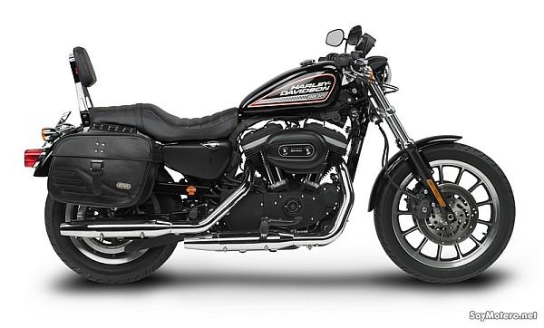 e17163d8d2a0d Alforjas y resplado Givi para la Harley Davidson Sportster 883 R