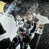Podio Red Bull X-Fighters Brazil 2011: Nate Adams, Robbie Madison Andre Vila