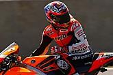 Stoner nuevo líder de MotoGP sobre el mojadoSilverstone