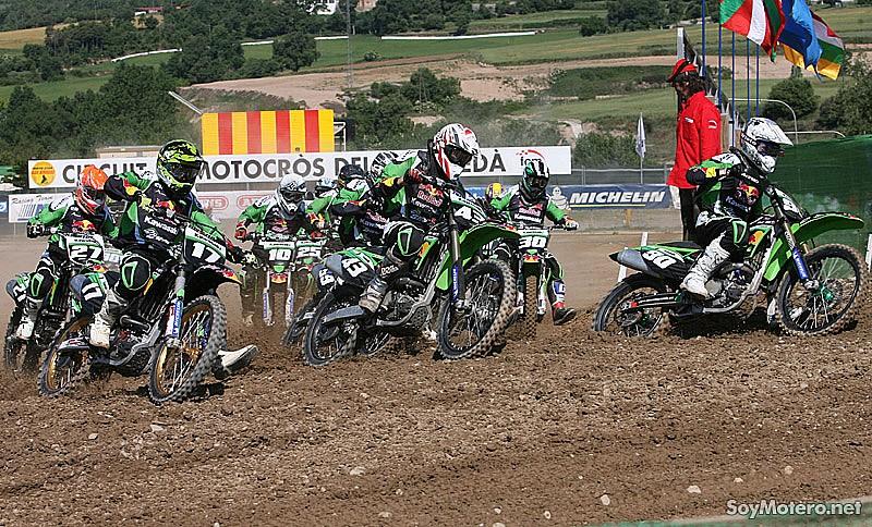 Circuito Urbano La Bañeza : Kawasaki team green cup últimos resultados clasificación