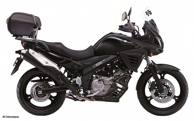promoci n suzuki v strom 650 abs a tope de accesorios actualidad zonaoff. Black Bedroom Furniture Sets. Home Design Ideas
