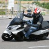 Prueba de la Michelin Power Pure SC, Kymco Superdink 300i