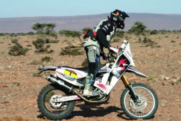 Equipo BMW Burn del Africa Race, BMW G 450 X