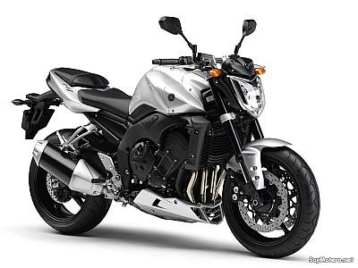 Yamaha Fz1 Plateada