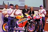 El Repsol Honda de MotoGP se presenta enMadrid