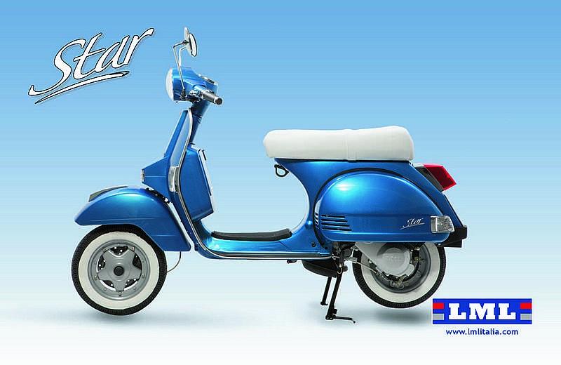 lml presenta la nueva star 125 4t autom tica motos. Black Bedroom Furniture Sets. Home Design Ideas