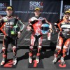 Superpole Phillip Island SBK 2013: Carlos Checa, Eugene Laverty y Michel Fabrizio
