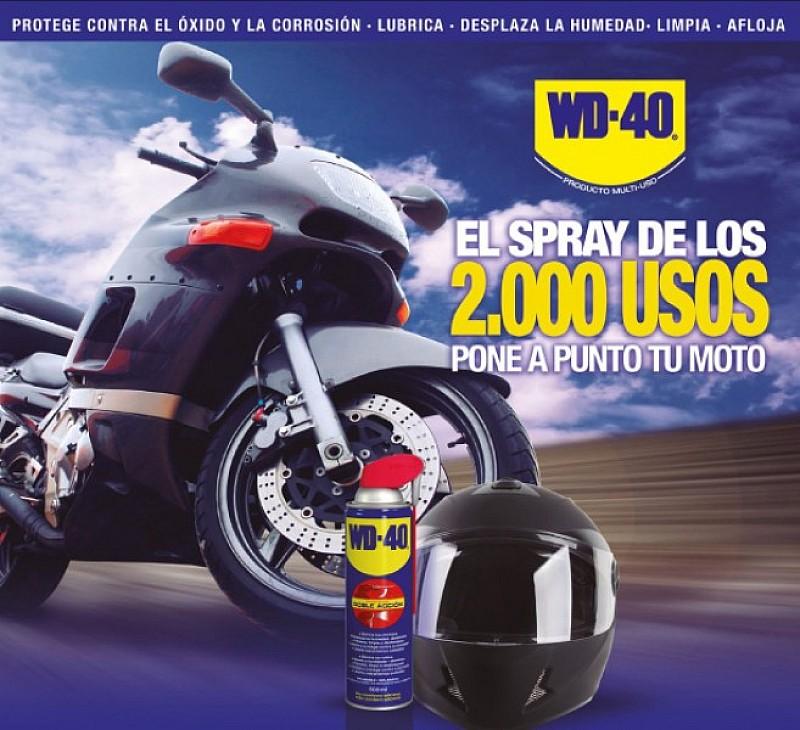 bmp te regala el spray wd 40 para moto motos mantenimiento de la moto. Black Bedroom Furniture Sets. Home Design Ideas