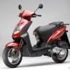 Kymco Agility 50 - color rojo