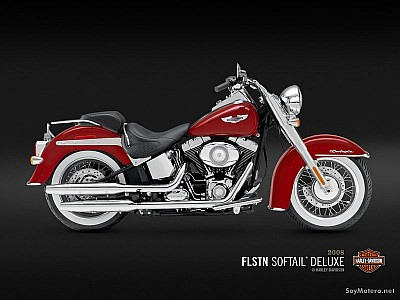 Harley Davidson Softail® Deluxe - Candy Red Sunglo