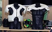 Dainese D-Air Racing Thorax, monos de cuero con airbag que protegenmás