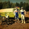 Tony Cairoli y Alessandro Lupino en el vídeo The Good Old Times.