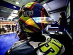 MotoGP Qatar 2014: Rossi estrena casco AGV con LED's
