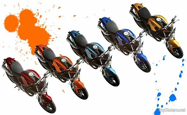 Ducati Monster Naranja
