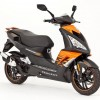 Peugeot Speedfight 125 negro/naranja