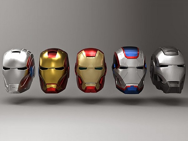 casco iron man ... Mascara Png