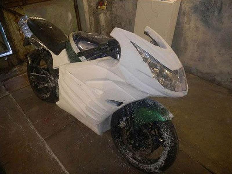 Обвес мотоцикла своими руками фото 955