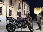Salamanca en moto y las curvas de la Sierra deFrancia
