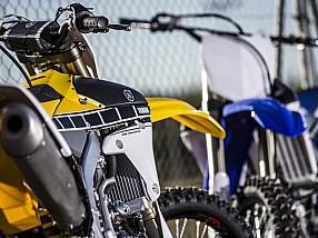 Gama Yamaha YZF 2016.