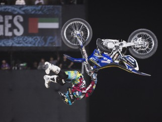 X-Fighters Abu Dhabi 2015: Clinton Moore.