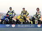 FIM CEV 2015: Bulega y Pons se unen a Morales comocampeones