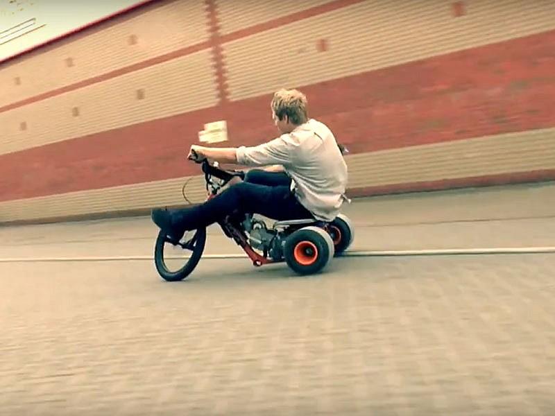 Quieres un trike para hacer drift? ¡Fabrícalo! | Motos | Mundo motor |
