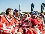 Los españoles del Dakar 2016