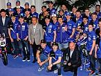 Yamaha presentó todos sus equipos enBarcelona
