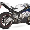 BMW S1000RR con escape Scorpion.