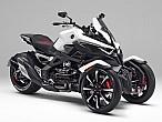 Honda muestra su trike NeoWing en AutoExpo
