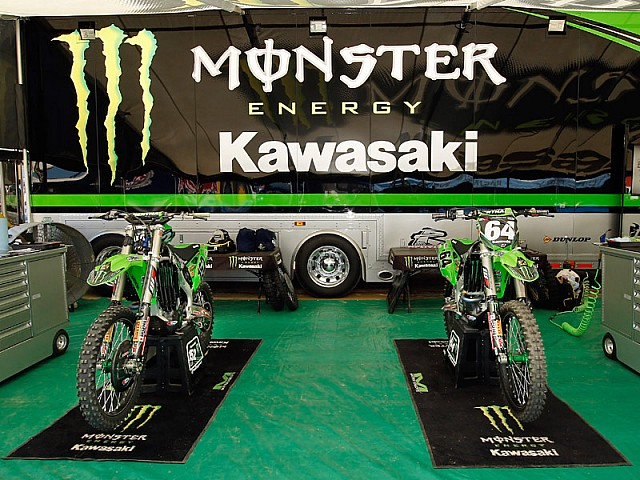 Monster Energy Kawasaki MX2.