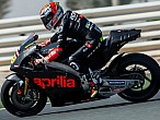 Bautista y Bradl probaron la Aprilia RS-GP 2016 enQatar